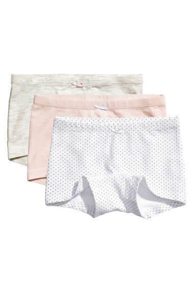 3-pack boxer briefs - White/Spotted - Kids | H&M 1